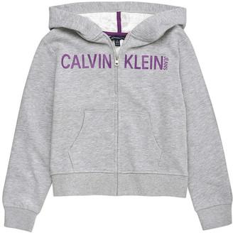 Calvin Klein Zip-Up Ckk Hoodie