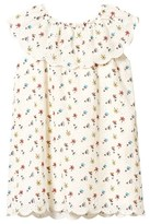 Chloé Cream Broderie Anglaise Mini Me Floral Print Dress