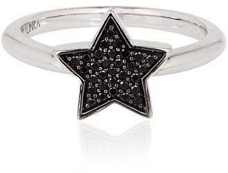 Ring Black Alinka Jewellery Stasia Single Star Diamonds
