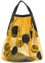 Maison Margiela polka-dot net bag