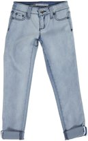 Tractr 5 Pocket Jeans (Kid) - Bleach wash-8