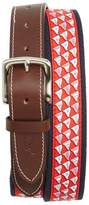 Vineyard Vines Men's Nautical Flags Canvas Belt