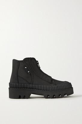 Proenza Schouler Canvas Ankle Boots - Black