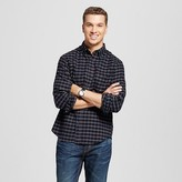 Merona Men's Plaid Button Down Flannel Shirt
