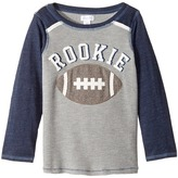 Mud Pie Football Rookie Long Sleeve Shirt Boy's Clothing