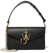 J.W.Anderson Logo Leather Shoulder Bag - Black
