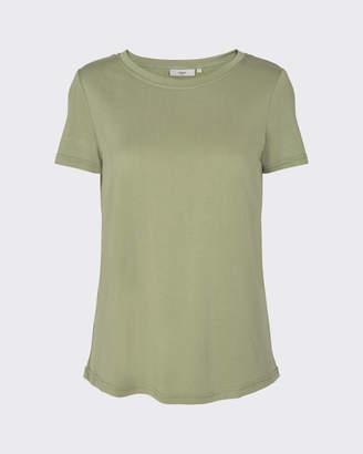 Minimum Rynah t-shirt in desert sage - polyester | sage green | Size XS - Sage green