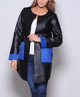 Paparazzi Black Faux Leather Jacket