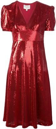 HVN Paula sequin dress