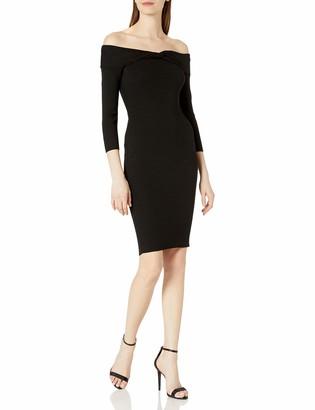 Milly Women's Off The Shoulder Twist Dress