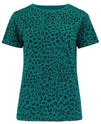 Sugarhill Boutique Maggie Evergreen Animal T Shirt - 10