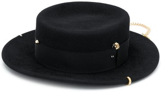 Ruslan Baginskiy Chain-Trimmed Hat