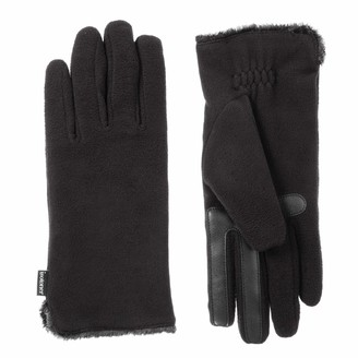 Isotoner Women's Stretch Fleece Touchscreen Texting Cold Weather Gloves with Warm Soft Lining