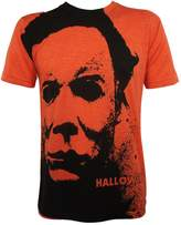 Impact Halloween Men's Michael Myers Splatter Mask Allover T-shirt Heather L