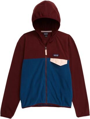 Patagonia Fleece Hooded Jacket