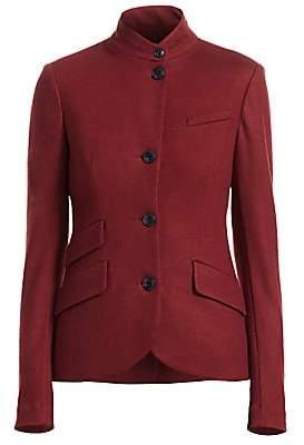 Rag & Bone Women's Slade Wool Mandarin-Collar Blazer - Size 0