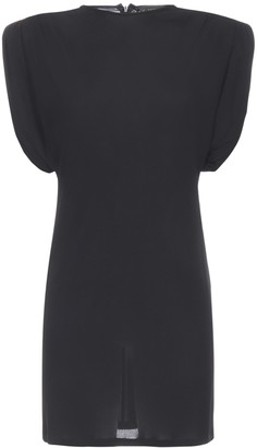 Versace Sheath Dress With Shoulder Padding