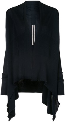 Rick Owens Draped-Back Cardigan