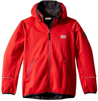 Lego Jacket with Windproof Finish and Hood (Infant/Toddler/Little Kids/Big Kids) (Red) Kid's Clothing