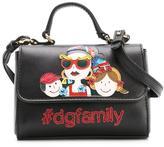 Dolce & Gabbana Family appliqué shoulder bag