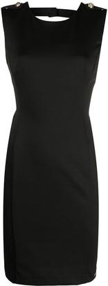 Liu Jo Black Sheath Dress with Back Neckline
