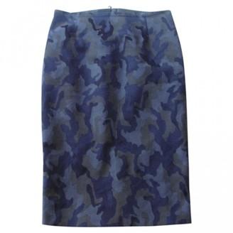 Pinko Grey Cotton - elasthane Skirt for Women