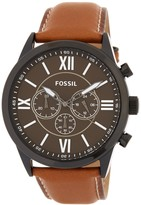 Fossil Men's Chronograph Leather Watch