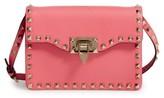 Valentino Garavani Rockstud Leather Crossbody Bag - Pink