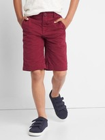 Gap Twill flat front shorts