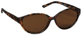 Studio 35 Essentials Plastic Sunglasses Monarch Demi Tortoise Shell