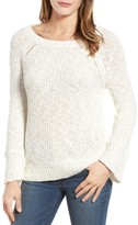 Velvet by Graham & Spencer Women's Cotton & Linen Tie Back Sweater