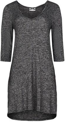Socialite 3/4 Length Sleeve X-Front Swing Dress