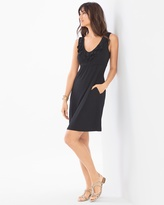 Soma Intimates Sleeveless Ruffle Trim Dress