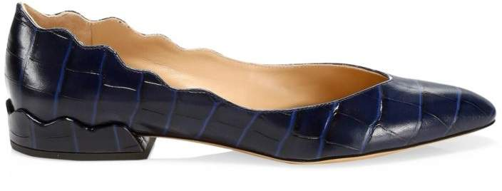 a80be99f3 Navy Pointed Toe Flats - ShopStyle UK