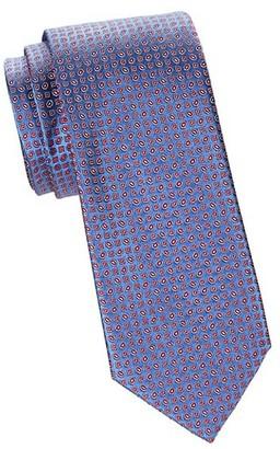 Brioni Geometric Jacquard Silk Tie