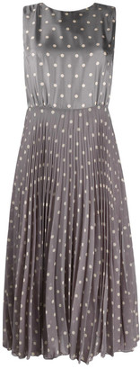 Seventy Polka Dot Sleevelss Dress