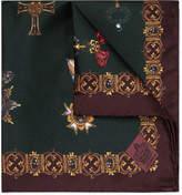Dolce & Gabbana - Printed Silk-twill Pocket Square