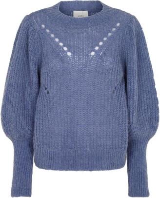 Just Female Marlin Blue Knit - Small