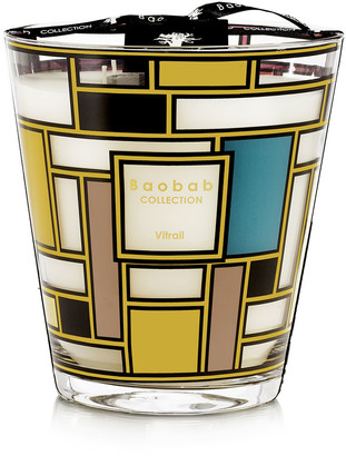Baobab Collection Max 16 Vitrail Gold Candle