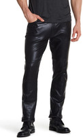 John Varvatos Seamed Motorcycle Leather Jean