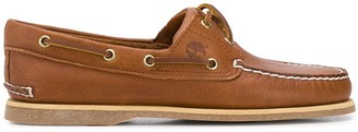 Timberland Laced Eyelet Boat Shoes