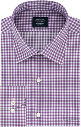 Arrow Men's Regular-Fit Spread-Collar Dress Shirt