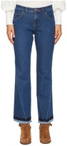 See by Chloe Denim Scalloped Trim Jeans Women's Jeans
