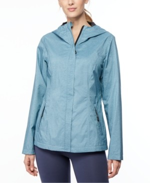 32 Degrees Hooded Water-Resistant Raincoat