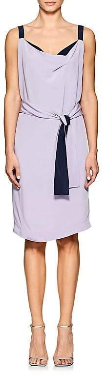 Narciso Rodriguez Women's Silk Crepe Wrap Dress