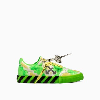Off-White Tie Dye Low Vulcanized Sneakers Omia085e20fab002