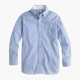 J.Crew Boys' Secret Wash end-on-end shirt