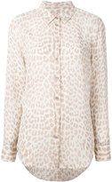 Equipment animal print shirt - women - Silk - XS