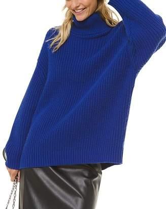 MICHAEL Michael Kors Oversized Turtleneck Sweater