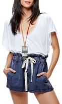 Free People Women's Drawstring Shorts